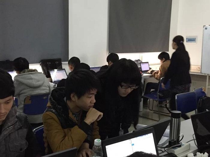 北大青鸟郴州科泰良好的学习氛围